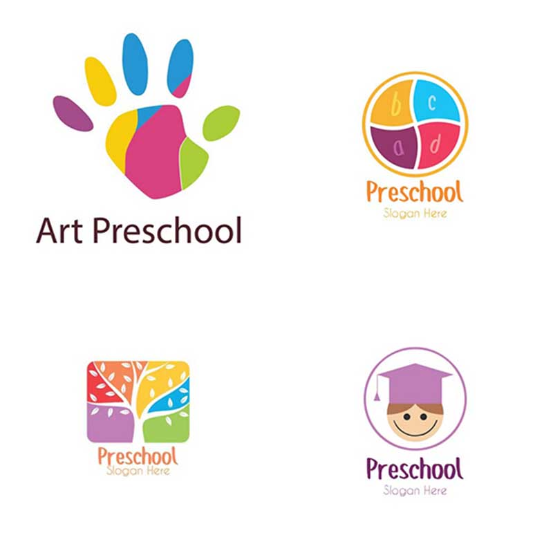 preschool logos wallpapers textures graphics themes eps png 110